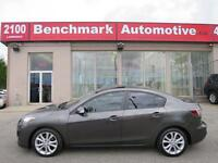 2010 Mazda Mazda3 GT-SEDAN-NAVIGATION-LEATHER-ROOF-CLEAN CARPROO