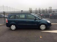 MID MONTH SALE 2006 Vauxhall Zafira 1,6 litre 5dr