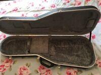 Hard Case for Electric Guitar Hiscox. Fender Telecaster Stratocaster Squire Gigbag Gig Bag Hardcase