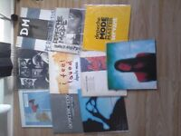 "DEPECHE MODE 12""SINGLES COLLECTION *RARE ITEMS *"