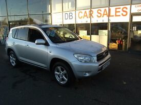 DIESEL !!! 2007 07 TOYOTA RAV4 2.2 XT-R D-4D 5d 135 BHP **** GUARANTEED FINANCE **** PART EX WELCOME