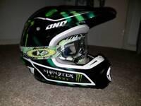 One industries motocross helmet