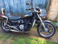 kawasaki zl600 eliminator......also comes with spare bike.....swap/px