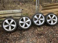 Genuine Skoda Rapid/octavia alloy whees 5 x 112 vw audi seat