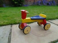 Wooden Trike for Toddlers