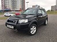 *DIESEL*TD4 BMW 2005 NEW SHAPE FREELANDER-FULL SERVICE HISTORY-TOP RANGE EXAMPLE-FULL LEATHER-55 MPG