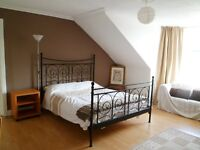 Huge, stunning, furnished double bedroom in massive, quiet, Dennistoun flat £360 pm City Centre East