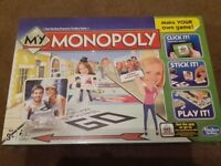 Brand New Unopened My Monopoly Game
