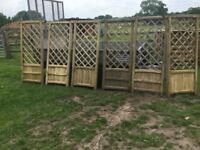 Decorative Fencing, exceptional. New. PICK UP TODAY.