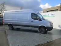 2006 vw grafter 5 ton twin wheels tacho 9 months mot £3500 no vat