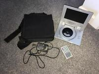 Technosonic portable DVD player