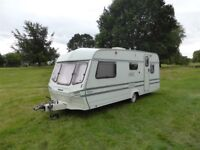 Lunar Jupiter 5 Berth touring Caravan clean and tidy full awning and all the kit ready to drive away