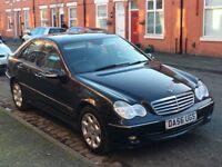 2007 Mercedes-Benz C Class 2.1 C220 CDI Elegance SE AUTOMATIC, 4dr,Long MOT-19-01-2019,
