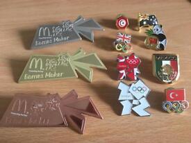 London 2012 Olympics Pins & Badges Games maker