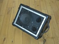 Wedge monitor speaker