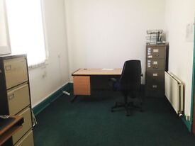Office Space to let - self-contained room available to let, free parking, 185 Sq foot (2.8M x 6.2M)
