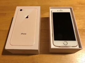 For sale is a new iPhone 8 gold 4.7 inch 64GB