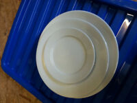 100 set of crockery+cutlery+glasses for sell