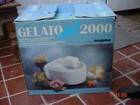 Magimix GELATO CHEF 2000 Ice Cream / Sorbet Maker. Boxed, Unused. Cost just under £300.