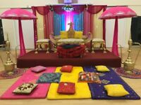 Mendhi Stage Hire