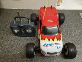 2 nitro cars , i may add my , for sale or swap for heli or drone or w,h,y