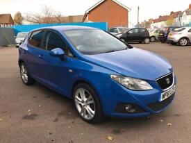 2011/61 SEAT IBIZA 1.2Tsi SPORTRIDER 5dr # GENUINE LOW MILEAGE # NEW BRAKES & SERVICE #TIDY #CAT C