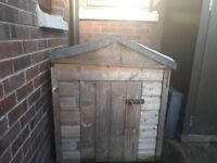 Large Wooden Dog House Suitable For Rottweiler, German Shepard. Good Condition, Fully Treated.