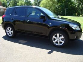 TOYOTA RAV4 2008 ONLY 45000 MILES WITH FULL SERVICE HISTORY