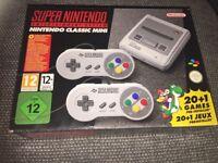 Super Nintendo Snes mini new