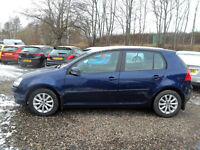 Volkswagen Golf Match TDi 110 5 door
