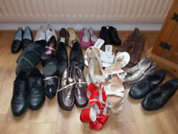 19 PAIRS MIXED SHOES FOR £20 REAL BARGAIN