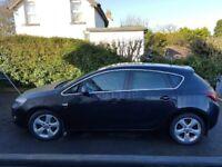 2011 Vauxhall Astra 1.7 CDTI SRI Black
