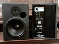 "EVENT BAS 20/20 Active Studio Monitors - 8"" Woofers"