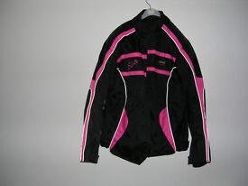 ladies motorcycle jacket brand new