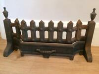 Cast iron fire surround fret