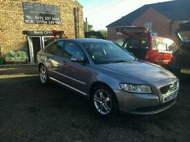 2007/57 Volvo S40, 2.0Se Matt Grey, Only 100k 12 MOT, Half Leather Seats, Cruise control Ac