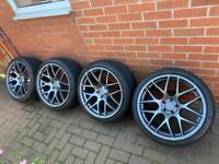 5x112 19 inch Fox Racing alloys wheels