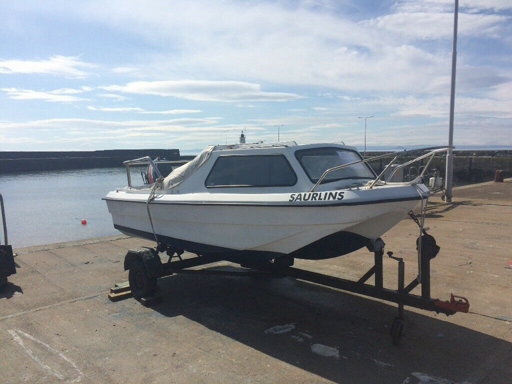 Cjr dory 15ft , 40hp mariner manual start outboard. £1650 ovno | in  Anstruther, Fife | Gumtree