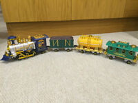 Toy train and other toddler toys