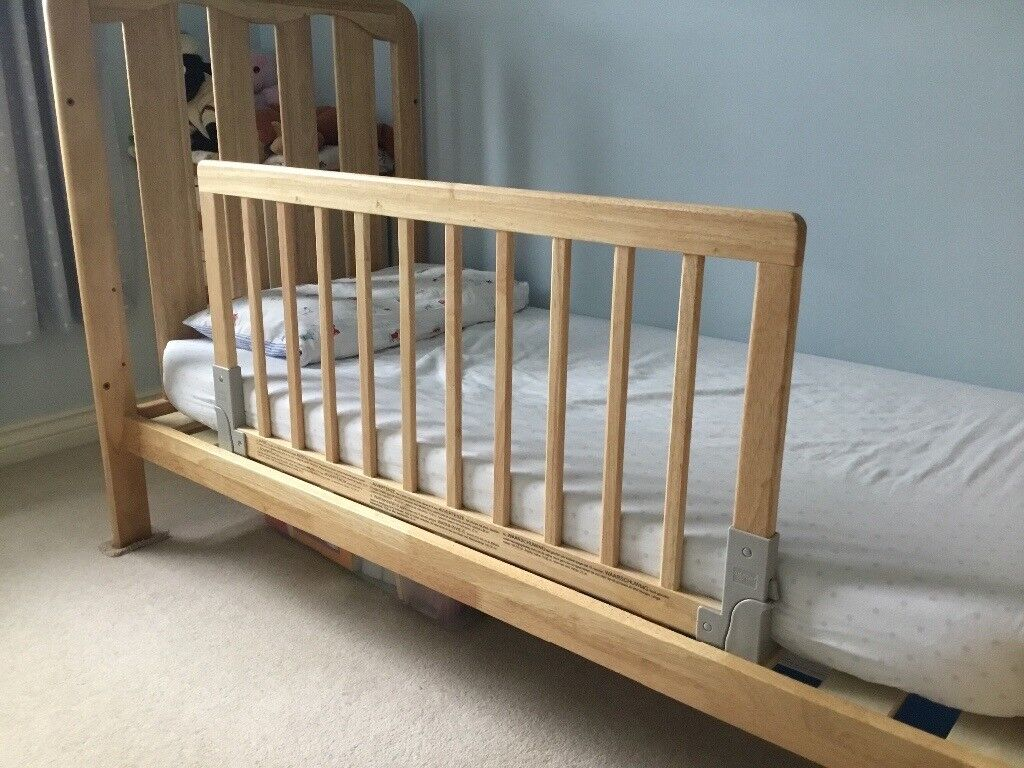 BabyDan Wooden Bed Guard Rail John Lewis