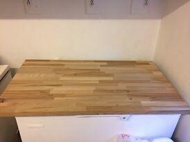 2 Solid oak work tops