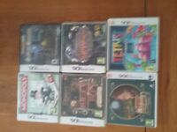 Selection of 6 ds and 3ds games