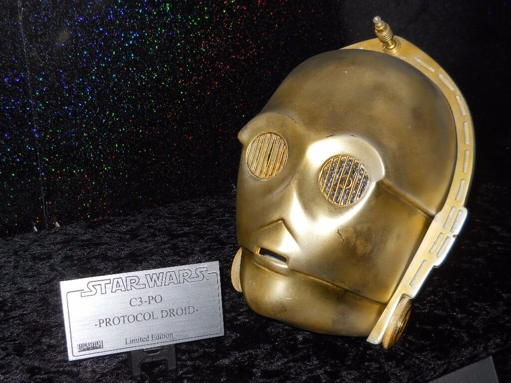 Star Wars Replica C3PO Head