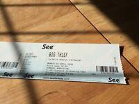 Big Thief Tickets x 2 - 2nd April - La Belle Angele, Edinburgh