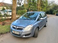 2008 Vauxhall Zafira Diesel 7 Seats