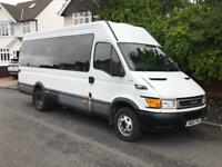 IVECO DAILY - 17 SEATER - DISABLED RAMP - MOT - READY TO GO