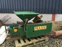 Fraser grain mill bruiser. Electric. Working but needs clean up