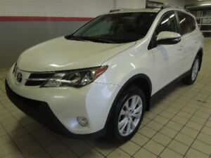 2015 Toyota RAV4 LIMITED CUIR-TOIT OUVRANT-MAGS
