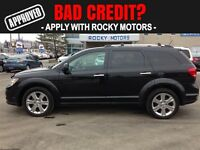 2012 Dodge Journey R/T $76.14 A WEEK + TAX OAC - BAD CREDIT APPR