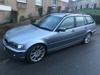 Bmw 320d es touring 2.0 diesel 6-speed manual! 53-plate! NO MOT! Good runner! High miles!! £475!!